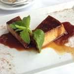 Pudding Egg desert (aka Crème Caramel cake)