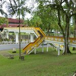 Bridge linking the museums in Kuching
