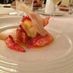 Le homard breton...