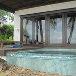 Palmpool villa pool - very refreshing