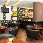 Lobby bar cafe