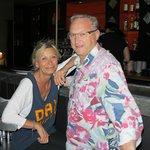 Le patron Didier et sa femme