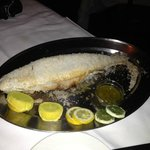 The Salt Crusted Branzino