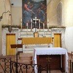La chiesetta consacrata dell'Ex convento