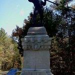 Tennessee Military monument in Chickamauga Military Park