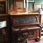 Upright Piano as you enter