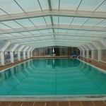 Gedeckter Swiming Pool