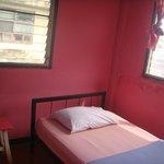 modest single room
