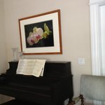 Living room- piano
