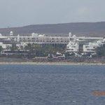 Vista del complejo desde la mar