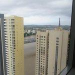 view from bedroom 32nd floor