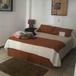 Hermosa habitacion y camas super comodas