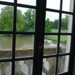 vue de la chambre au balcon