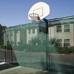 Homewood San Jose Airport hotel basketball court