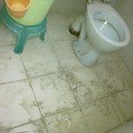 untidy toilet
