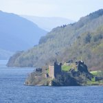 Urquhart Castle Loch Ness, 5 min. drive from the B&B