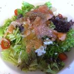salade saumon mariné