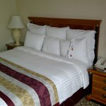 Bed in room 747