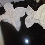 Facecloth flowers
