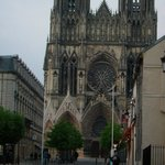 Reims Cathedral close by