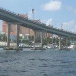Atlantis beyond the bridge