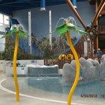 Kids swimming area