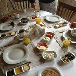nuestro desayuno..