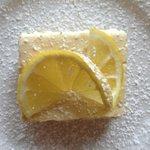 Lemonchello lady finger cake