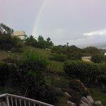 Virgin Gorda beautiful rainbow