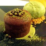 Green tea ice cream a must try!