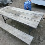 Our picnic table