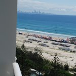View to Gold Coast