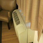 The AC unit (not sure why I took a photo of this, but here it is)