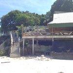 Baustelle am Strand