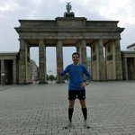 Running with Mike in Berlin