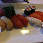 entree of sushi - yum!