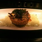 Mushroom & Leek tartlet from the new £5 lunch men