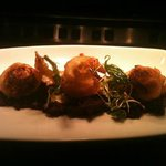 Goats Cheese Dumplings from the new £5 lunch menu