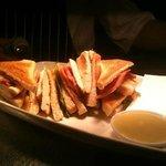 Roast chicken & bacon club sandwich from the new £5 lunch menu