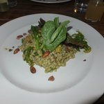 Asparagus risotto(with pearl barley)