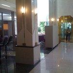 O hall do Hotel