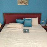 Nice big double bed
