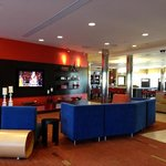 Lobby area. Great place to watch a sporting event.