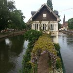 Lovely house with acces from the bridge