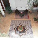 Ground floor, centre of Riad