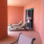terrace suite outside balcony