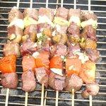 beef kebab brochettes boeuf