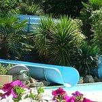 Slides at Pool