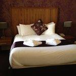 Nice comfy bed, Room 30