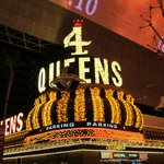 Outside the 4 Queens Fremont Street